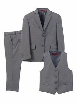 Gioberti NEW Gray Boys Size 18 Single Breasted 3-Piece Fomal