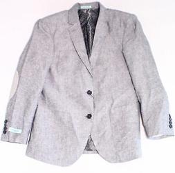 Gioberti NEW Light Gray Mens Size 38 Two Button Notch-Collar