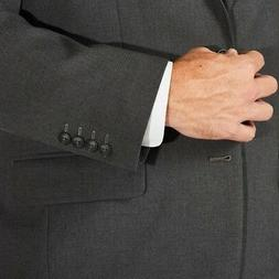 NEW Haggar H26 Men's Big & Tall Classic Fit Suit Jacket - Ch