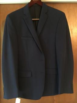 New Van Heusen Men's Blue Flex Slim-Fit Suit Jacket Blazer S
