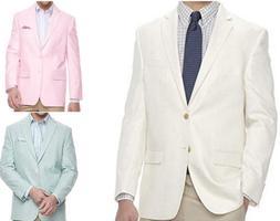 New Men's Chaps Classic Fit Stretch Sport Coat Suit Jacket