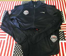 NEW Men's Nike USA Basketball Dri Fit Team Issue Warm-up Sui