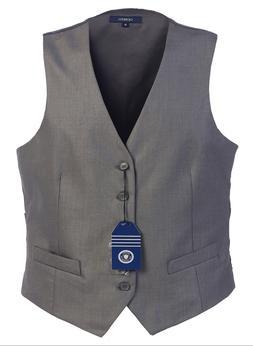 NEW Gioberti Mens 5 Button Formal Suit Vest Gray V5-95 MSRP