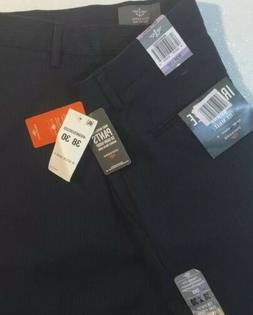 NEW DOCKERS Mens Dress Pants 38 X 30 Navy Blue Suit Pin Stri