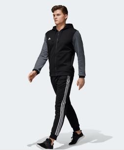 new model adidas ENERGIZE TRACK SUIT SET black gray men's S