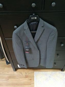 NEW NWT Men's VAN HEUSEN Flex Blue Slim Fit Stretch Suit Jac