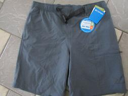 NEW COLUMBIA ONMI-SHADE GRAY SWIM SUIT SHORTS SWIM TRUNKS ME