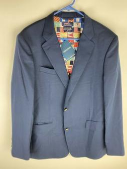 New Columbia PFG Dockside Collection Size 44 Long Blazer/Sui