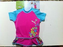 New Speedo UV 50 Flotation Suit Swim Vest For Kids Girl Age