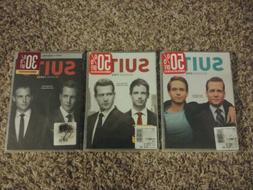 NEW Suits: The Complete Season 1 & 2 & 3 * DVD SEALED One Tw