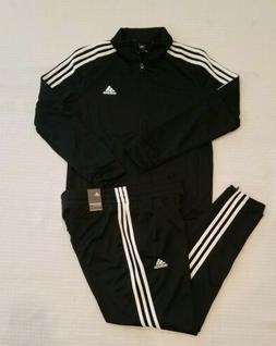 New Adidas Tiro Track Suit Black/White  Men's Size X-LARGE