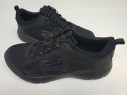 NEW! Skechers Women's SUMMITS SUITED Walking Shoes Black #12