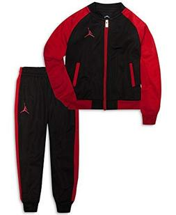 Jordan Nike Air Boys Tricot Tracksuit Jacket & Pants Set, Bl