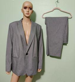 NWT $219 Talbot Women's Pants Suit Blazer Jacket 2 Pc Black