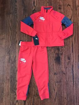 NWT$48 Boy's Nike Air Track Suit Set Jacket & Pants Size 4