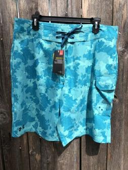 NWT$60 Under Armour UA Storm Men's Board Shorts Swim Trunk