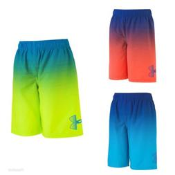 NWT Boy's Under Armour Angle Drift Volley Shorts Swim Suit M
