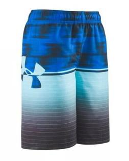 NWT Boy's Under Armour Swim Volley Shorts Swim Suit - Large