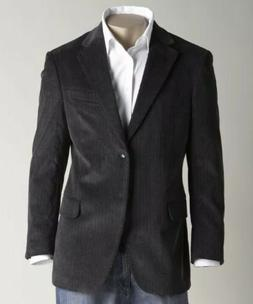 NWT Dockers Herringbone Mens 44R Blazer Suit Jacket Sport Co