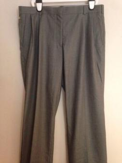 NWT MEN DOCKERS GREY SHARKSKIN SUIT SEPARATE W38 L29