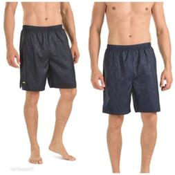 NWT Men's Speedo Geometric Tech Stretch Volley Swim Shorts S