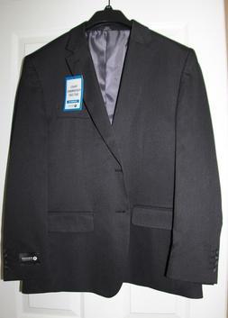 NWT Men's HAGGAR Tailored-Fit Travel Performance Suit Coat B