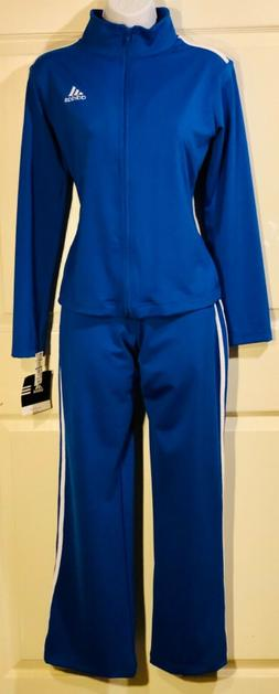 NWT ORIG $299.98! ADIDAS Women's ROYAL BLUE WARM UP SUIT W