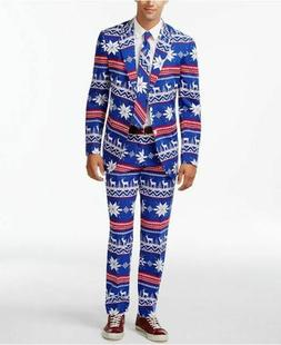 OppoSuits Christmas The Rudolph Slim Suit Size 44R / 38W Jac