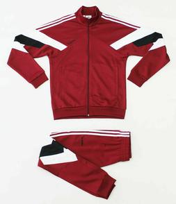 adidas Originals Palmeston Men's Burgundy Track Suit Set Jac