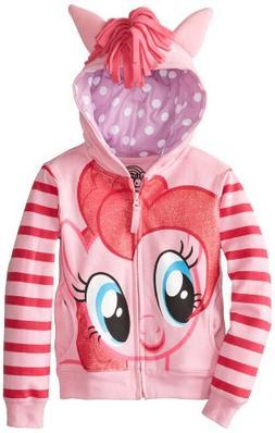 My Little Pony Little Girls' Pinky Pie Hoodie,Pink/Multi,5/6
