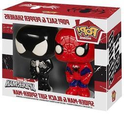 Funko POP Marvel Salt N' Pepper Shakers - Spider-Man Black S