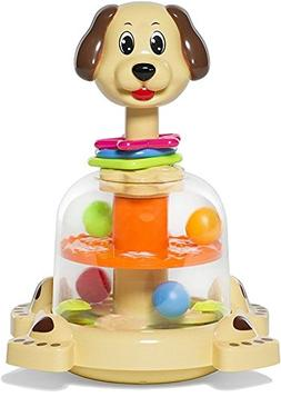 MooToys 'Doggy spinner' Push and spin Dog, Help Develops you