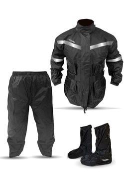3 Piece - AVE Rain Suit - Stay Dry Motorcycle Rain Suit