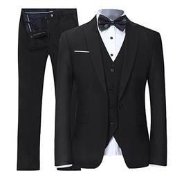 slim fit suit one button