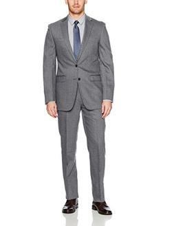 slim fit wool suit