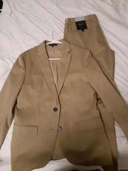 Banana republic slim Suit 38s 31W 30L