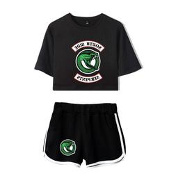 Southside Serpents T-shirt + Shorts Bangtan Riverdale TV Cou
