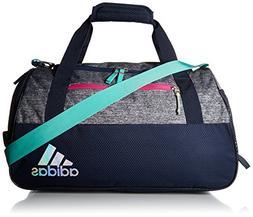 adidas Squad Duffel Bag, Green/Bahia Magenta/Frozen Yellow,