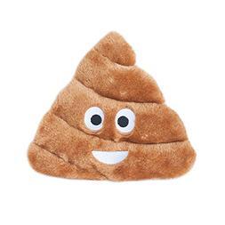 ZippyPaws - Squeakie Emojiz Stuffed Plushie Dog Toy - Pile o