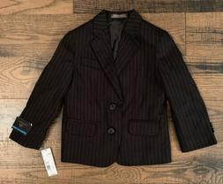 Dockers Suit Jacket Blazer Boys Size 4 Regular Black Stripe