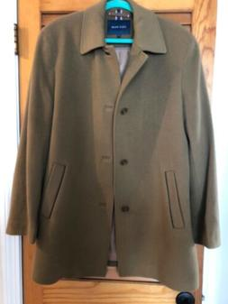 Cole Haan Suit Overcoat Tan-  New Without Tags