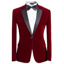 suit peaked lapel one button