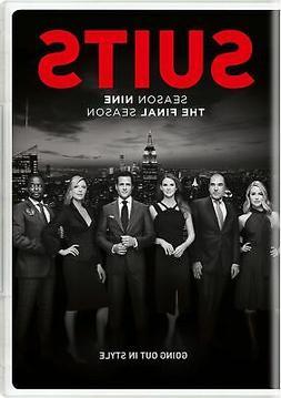 Suits Season Nine DVD Gabriel Macht NEW