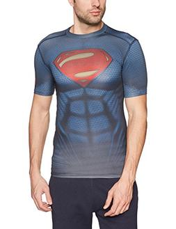 Under Armour Superman Suit SS Tee - Men's Midnight Navy / Re