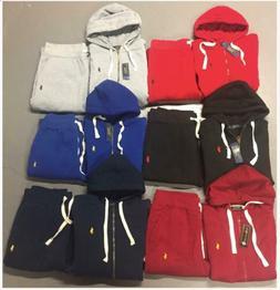 Polo Ralph Lauren Sweat Suit Complete Suit Full Zip Hoodie B