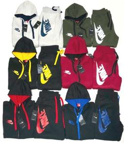 Nike Sweatsuit New Men's Complete Set Full Zip Hoodie Jogger