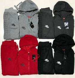 Nike Sweat Suit Men's Brand New Full Zip Hoodie + Joggers Fr