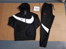 Nike Sweat Suit Men's Swoosh Complete Set Hoodie & Joggers B