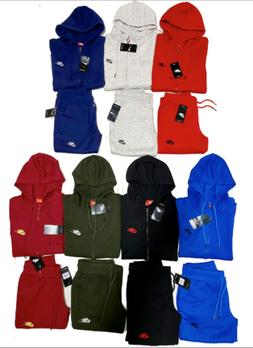 NIKE SWEATSUIT COMPLETE SET ZIP UP HOODIE AND JOGGERS FAST F