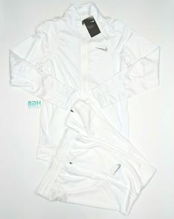 Nike Team Player Staff Warm Up Suit Basketball White 2 Piece